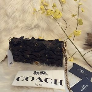 Coach signature design art bag